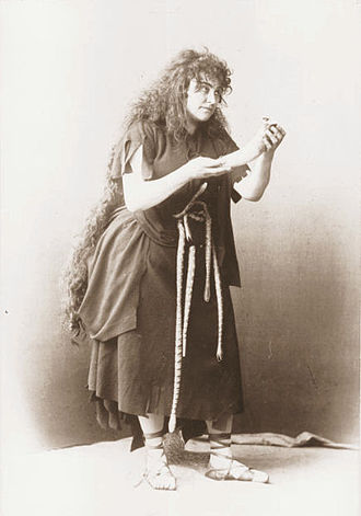 Amalie Materna - Kundry in Parsifal (Bayreuth, 1882)