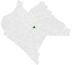 Municipality o Amatenango del Valle in Chiapas