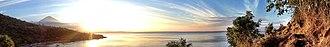 Bali - Image: Amed banner sunset