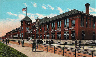Schenectady Locomotive Works - Image: American Locomotive Company Schenectady New York