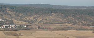 Ammer Valley Railway - Near Unterjesingen
