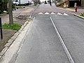 Anciens Rails Tramway St Germain Prés Avenue Verdun - Fontenay-aux-Roses (FR92) - 2021-01-03 - 3.jpg