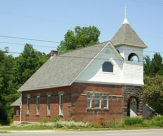 National Register of Historic Places listings in Ashland County, Ohio - Image: Anderson Schoolhouse