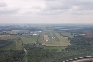Paderborn Lippstadt Airport - Aerial overview of Paderborn Lippstadt Airport