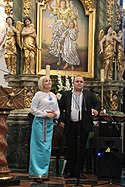 Angel Voices from Ternopil performing in Cathedral Basilica of the Assumption of the Blessed Virgin Mary in Lowicz 2017 P06.jpg