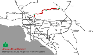 Angeles Crest Highway Highway in California