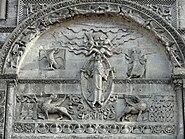 Angoulême - Cathédrale Mandorle