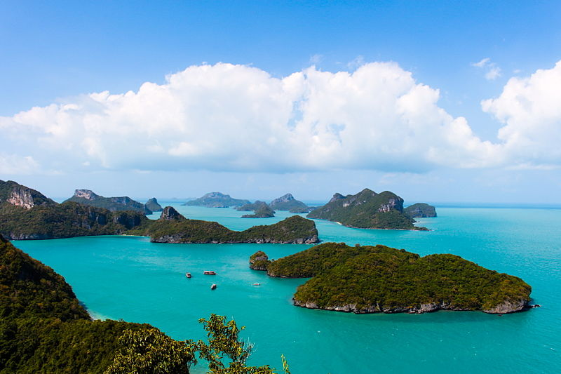 "Ang Thong National Marine Park – The Breathtaking Beauty of ""Golden Bowl"""