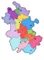 Anhui Prefecture Map.png