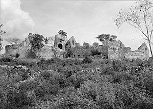 Annaberg Historic District - Image: Annaberg sugar plantation ruins
