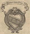 Annales Styrenses 1740 - Zuvernumbisches Wappen.jpg
