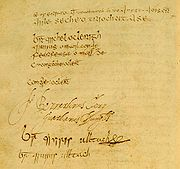 Annals of the Four Masters Signature