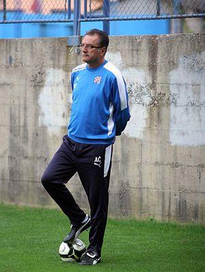 Ante Čačić - Managing Dinamo Zagreb in 2011