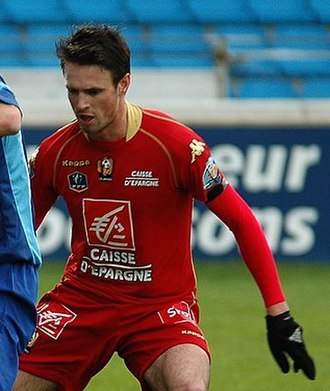 Anthony Le Tallec - Le Tallec playing for Le Mans in 2009