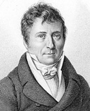Antoine Jay - Engraving of Antoine Jay