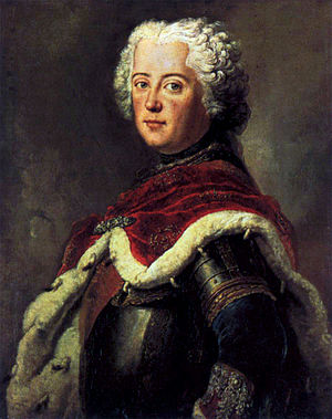 1739 in art - Image: Antoine Pesne Frederick the Great as Crown Prince WGA17377