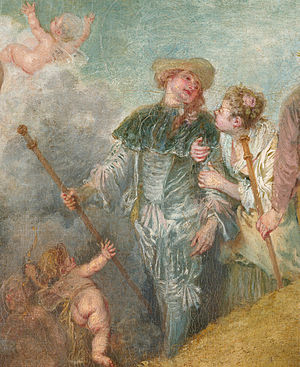 The Embarkation for Cythera - Image: Antoine Watteau 041