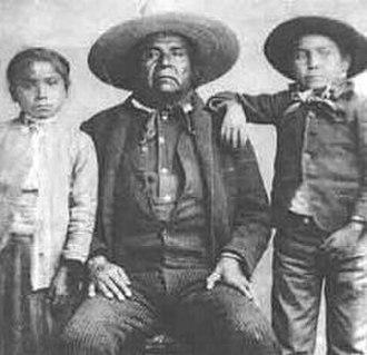 Sombrero - Apache chief with sombrero