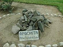 Apacheta - Wikipedia, la enciclopedia libre