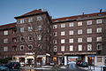 Apartment building Wredestrasse Tiestestrasse Hanover Germany.jpg