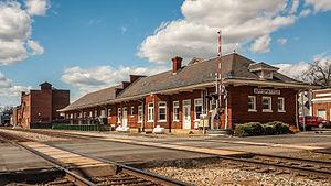 Appomattox Historic District - Appomattox Depot (now Appomattox Visitor Center), Appomattox Historic District, March 2013