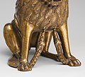 Aquamanile in the Form of a Lion MET DP122627.jpg