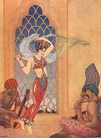 Scheherazade og Shahriâr
