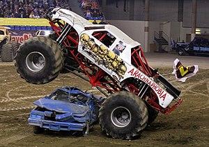 Arachnaphobia Monster Truck 2008.jpg