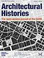 Architectural Histories journal cover image Volume 2 2014.jpg