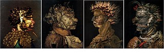 series of paintings by Giuseppe Arcimboldo
