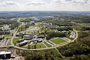 Argonne National Laboratory - Aerial view of Argonne National Laboratory