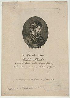 Aristoxenus Greek Peripatetic philosopher; pupil of Aristotle