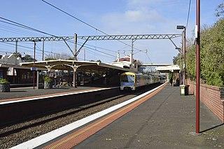 Armadale railway station, Melbourne Railway station in Melbourne, Australia