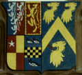 Arms 1stEarlOfCarnarvon BrushfordChurch Somerset.xcf