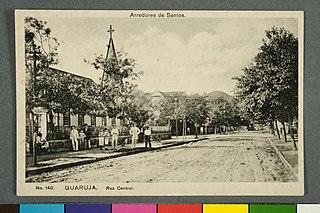Arredores de Santos. Guarujá. Rua Central