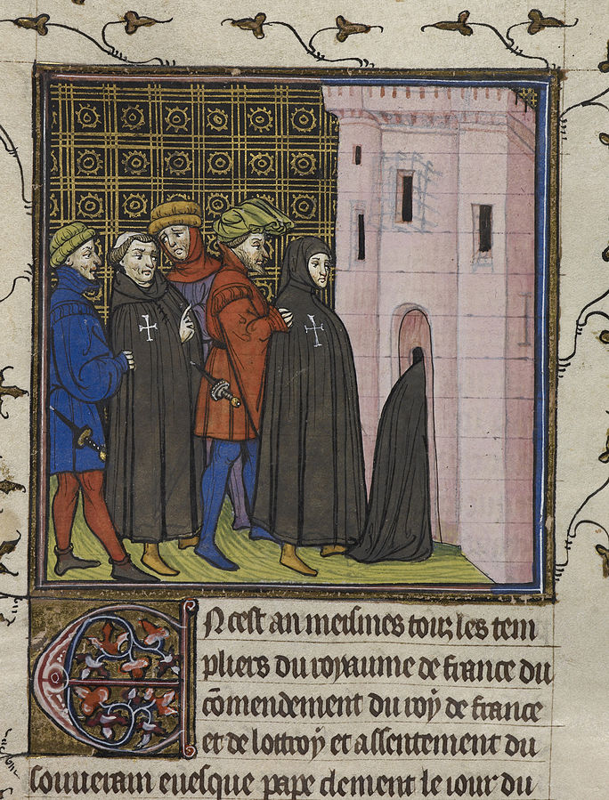 Fate of the Templars outside France during the arrests of 1307-1308