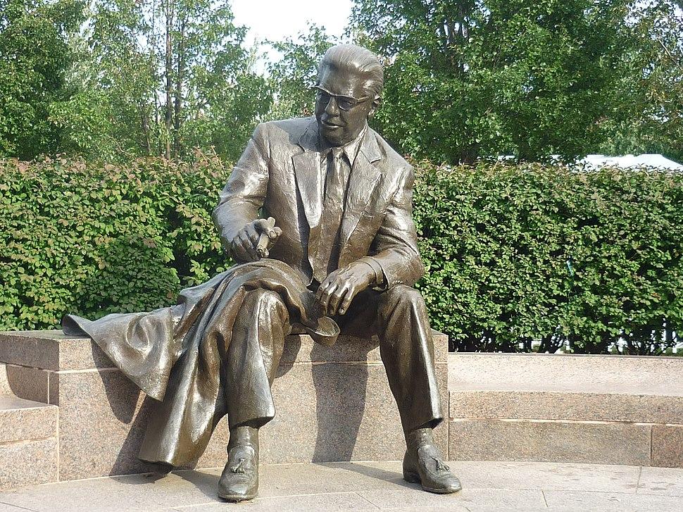Art Rooney Statute at HeinzField