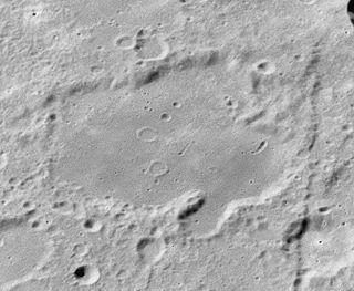 Artamonov (crater) lunar crater