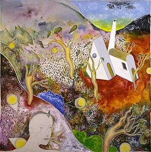 Luca Alinari - Il passeggiatore solitario, 1989–1990 (Art collections of Fondazione Cariplo)