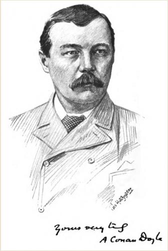 Arthur Conan Doyle by George Wylie Hutchinson