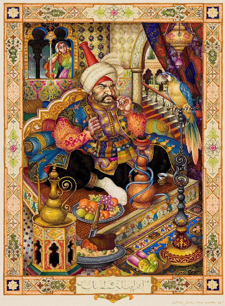 File:Arthur Szyk (1894-1951). Arabian Nights ...
