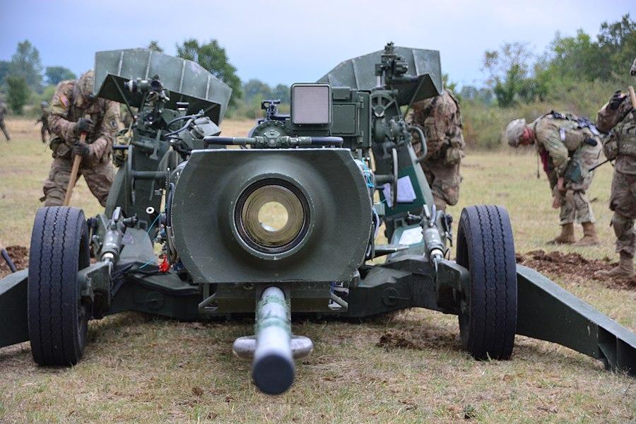 Artillerie  US Airborne Colibri