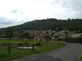 Arzenc-de-Randon - A general view of the village of Arzenc-de-Randon