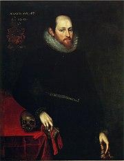 Ashbourne portrait ShakespeareHamersley