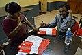 Asish Mazumdar - Certificate Signing - Bengali Wikipedia 10th Anniversary Celebration - Jadavpur University - Kolkata 2015-01-10 3307.JPG
