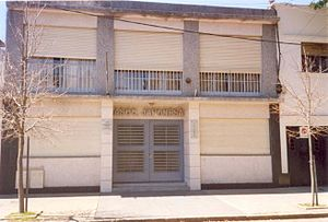 Japanese Association of Rosario - The front of the AJR's building, on Iriondo St., Rosario.