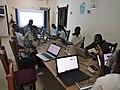 Atelier de rédaction d'article a Cotonou par les Wikimédiens du Bénin1.jpg