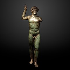 Statuette of an athlete-Br 3