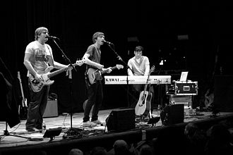 Athlete (band) - Athlete performing in 2008