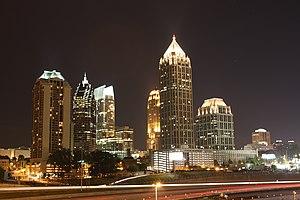 Midtown Atlanta at Night, May 08